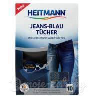 Chusteczki barwiące do jeansów 10szt Heitmann