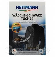 Chusteczki barwiące do czarnych ubrań 10szt Heitmann