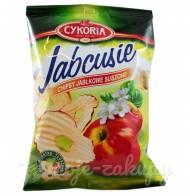 Jabcusie Chipsy jabłkowe suszone 40g Cykoria