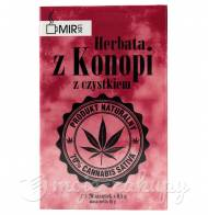 Ekologiczna Herbata z konopi siewnej z czystkiem 16g Mir-Lek