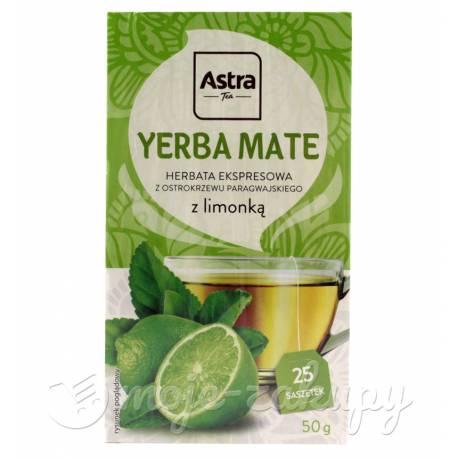 Yerba Mate z limonką 50g Astra