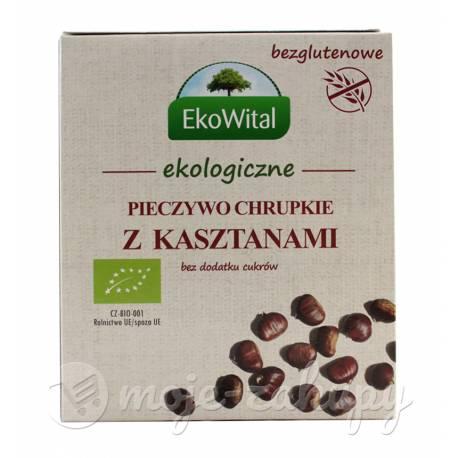 Pieczywo chrupkie z kasztanami EKO 100g EkoWital