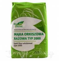Mąka orkiszowa eko razowa typ 2000 1kg Bio Planet