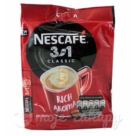 Kawa Rozpuszczalna Nescafé Classic 3w1 165g
