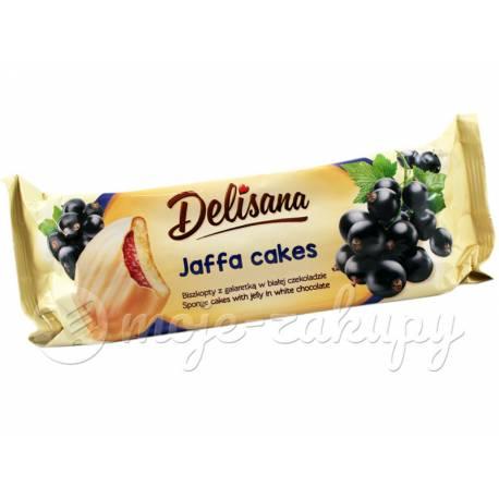 Jaffa cakes Delisana z galaretką z czarnej porzeczki Delicpol 135g