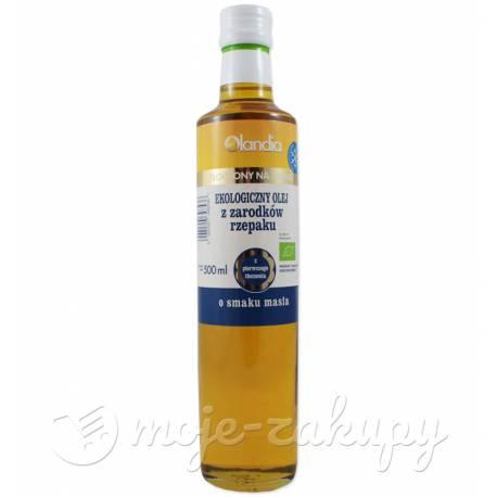 Olej z zarodków rzepaku 100% eko 500ml Olandia