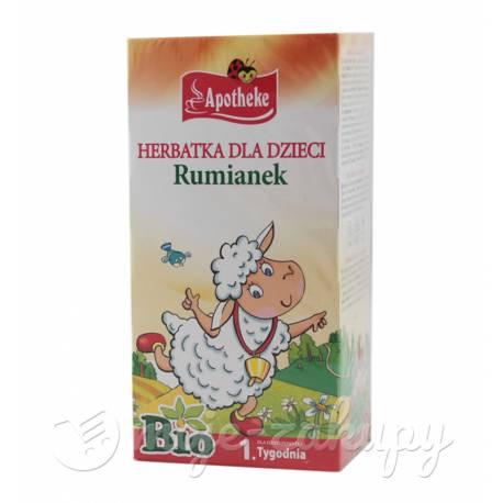 Herbata eko Rumianek dla dzieci Apotheke 20g