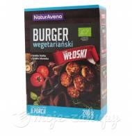 Burgery wegetariańskie w proszku włoskie eko NaturAvena 200g