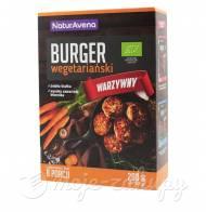 Burgery wegetariańskie w proszku warzywne eko NaturAvena 200g