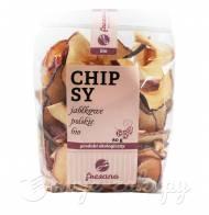 Chipsy jabłkowe Polskie Bio 80g Fresano