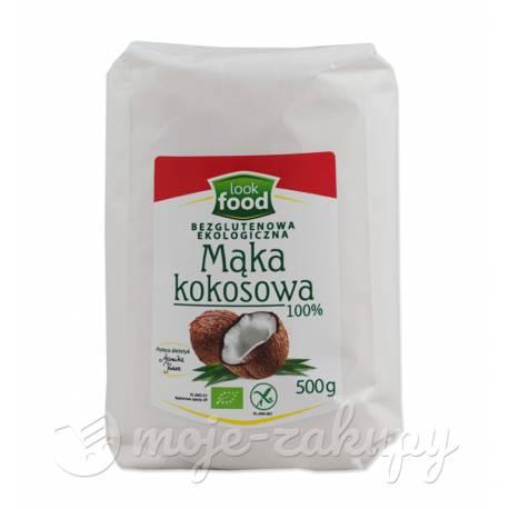 Mąka kokosowa ekologiczna 500g Look Food