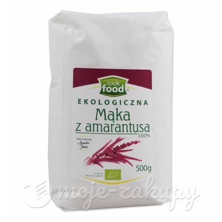 Mąka z amarantusa ekologiczna 500g Look Food