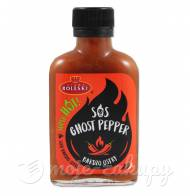 Sos ghost pepper bardzo ostry Super hot 115g Roleski