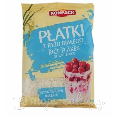 Płatki ryżowe błyskawiczne 250g Konpack