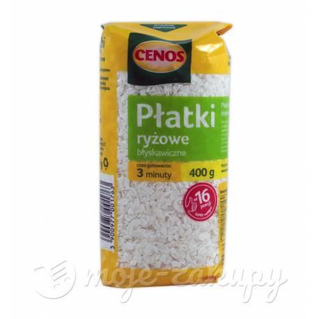 Płatki ryżowe błyskawiczne 400g Cenos