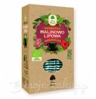 HERBATKA LIPOWO- MALINOWA BIO (25 x 2,5 g) DARY NATURY