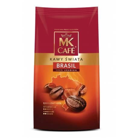 Kawa Palona Ziarnista MK Cafe Kawy Świata Brasil 250g