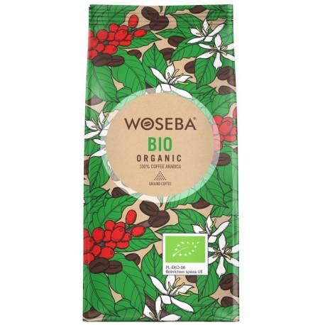 Woseba Bio Organic 250g ekologiczna kawa mielona