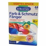 Dr.Beckmann chusteczki do prania 44szt wyłapujące kolor niemcy
