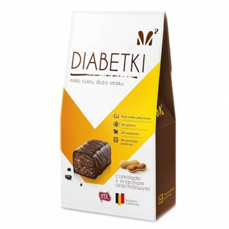 Diabetki z Orzechami Arachidowymi bez dodatku cukru 100g Alma Bonbons