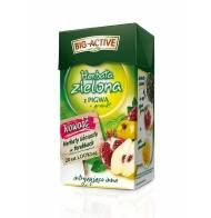 Zielona herbata BIG-ACTIVE z pigwą + granat 20 torebek