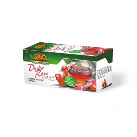 Ekspresowa Herbata Edal Dzika Róża 20 torebek