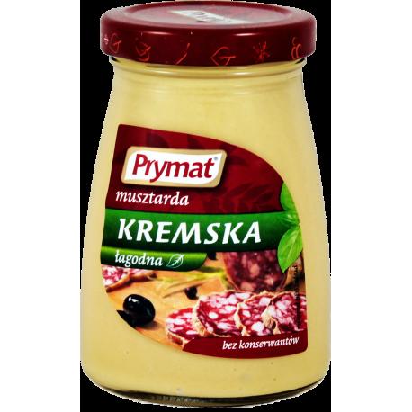 MUSZTARDA KREMSKA ŁAGODNA 185G PRYMAT