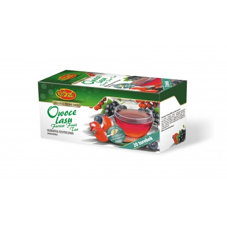 Ekspresowa Herbata Edal Owoce Lasu 20 torebek