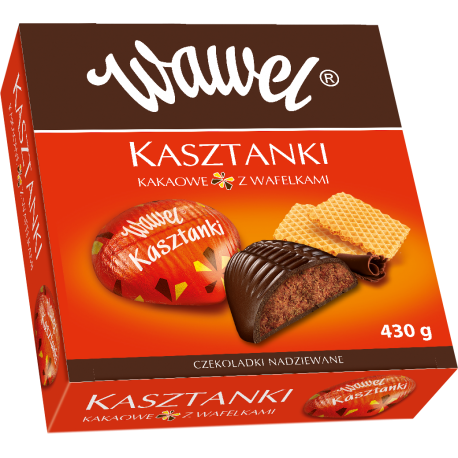 Bombonierka KASZTANKI - Wawel 430g