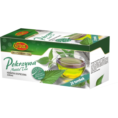 Herbata ekspresowa - Pokrzywa 20 torebek EDAL