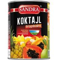 Koktajl z owoców tropikalnych 565g SANDRA