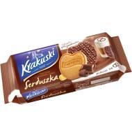 Krakuski - Serduszka w Mlecznej czekoladzie 143g BAHLSEN