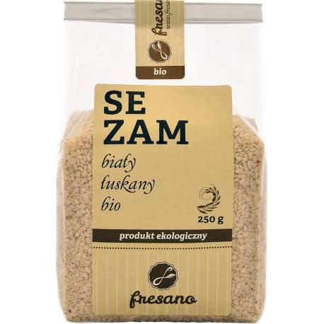 Sezam biały łuskany BIO 250g FRESANO