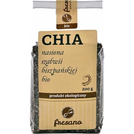 Chia – nasiona szałwii hiszpańskiej BIO 200g FRESANO