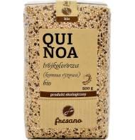 Quinoa trójkolorowa (komosa ryżowa) BIO 500g FRESANO