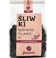 Śliwki kalifornijskie bez pestek suszone BIO 200g FRESANO