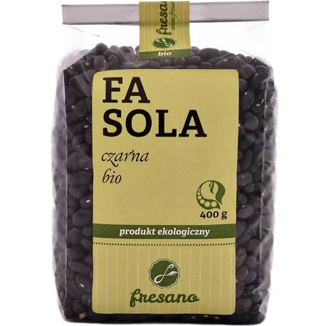 Fasola czarna BIO 400g FRESANO