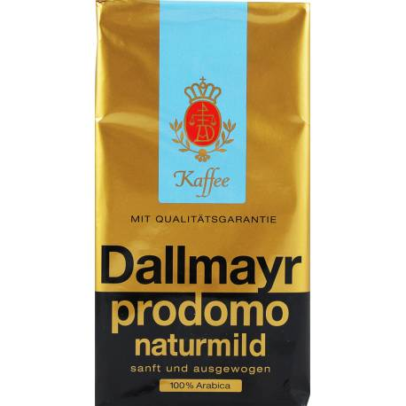 Kawa Dallmayr Prodomo Naturmild 500g Łagodna